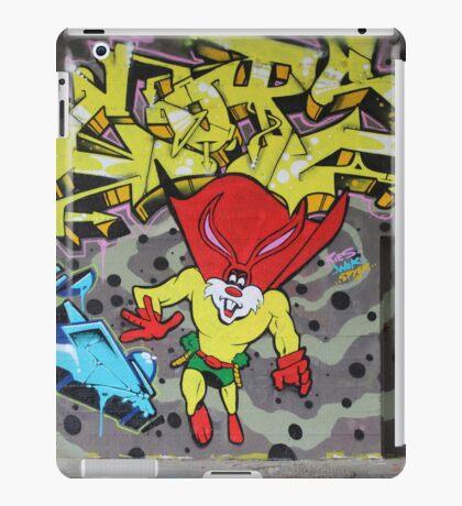 Superbunny Graffiti Vienna Austria iPad Case/Skin