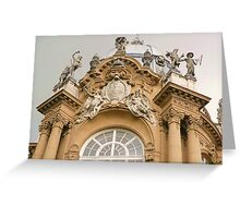 castle top Greeting Card