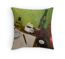 A Bohemian Work Ethic Throw Pillow
