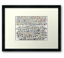 PokePoster Framed Print