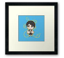 Chibi Akaashi Framed Print