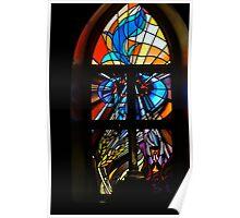 Sanctuary Window ~ St Barnabas Oberon Poster