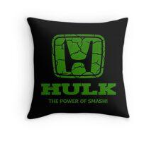 Hulk Honda 2 Throw Pillow