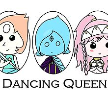 Dancing Queen (Pearl, Fi, and Olivia) by shroomsoft