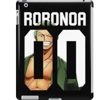 Roronoa Zoro 00 iPad Case/Skin