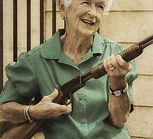 Granny Get Your Gun! by pat gamwell