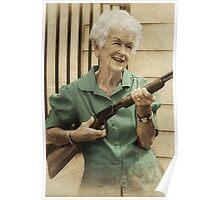Granny Get Your Gun! Poster