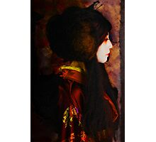 Geisha Series Number 4 Photographic Print