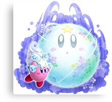 Ice Kirby Canvas Print