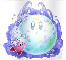 Ice Kirby Poster