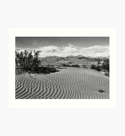 Death Valley Sands, California Art Print