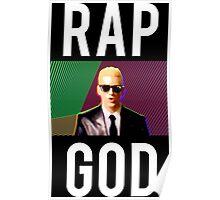 Eminem Rap God Tees Poster