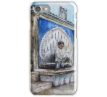 Little Boy at the Fountain iPhone Case/Skin