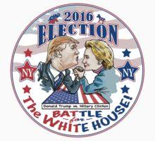 Donald Trump versus Hillary Clinton 2016 Kids Tee