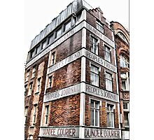 Peoples Journal ~ London Photographic Print