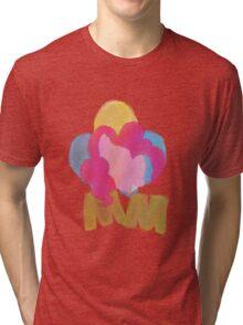 MOM Paint Splatter Tri-blend T-Shirt