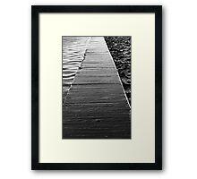 I Withdrew Framed Print