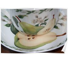 The perfect pear cup 2, Bexley winter morning. Poster