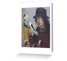 Young French Man with a Dream Greeting Card