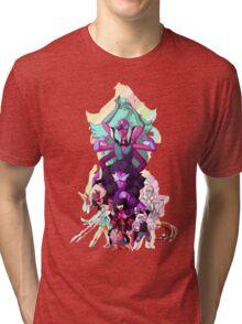 Steven Universe Fusion Print  Tri-blend T-Shirt