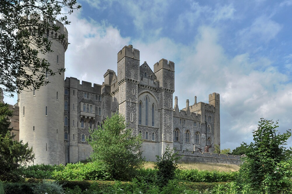 Arundel Castle by monkeypolice