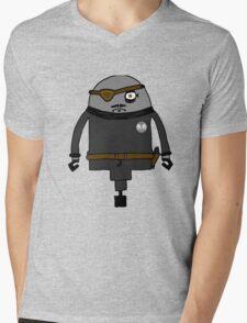 Nick Furious Mens V-Neck T-Shirt
