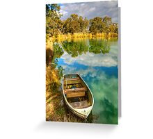 Reflections at Nuriootpa, Barossa Valley Greeting Card