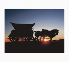 Riding into the Sunset... T-Shirt