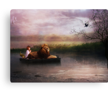 """Hush Little Baby , Don't You Cry"", (The Imaginary Kingdom Series)) Canvas Print"
