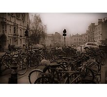 Oxford Bikes Photographic Print