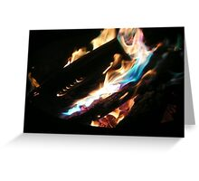 Open Fire!!! Greeting Card