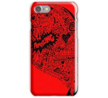 HeartFull graffiti love iPhone Case/Skin