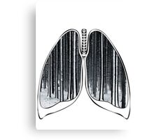 Lungs - Black Forest Canvas Print
