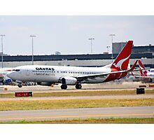 Qantas Boeing 737-800 Photographic Print