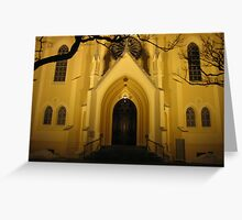 Evangelical Reformed Church in Warsaw Greeting Card