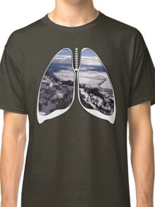 Lungs - Yellow Stone Nation Park  Classic T-Shirt