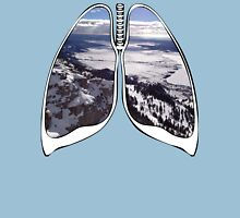 Lungs - Yellow Stone Nation Park  Unisex T-Shirt