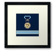Pittsburgh Penguins 2011 Winter Classic Jersey Framed Print