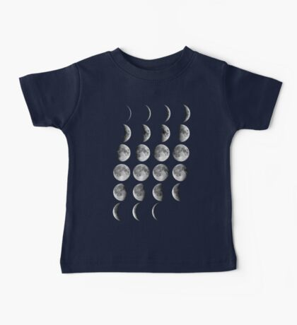 Moon Phases Baby Tee