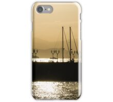 Naples, Italy Harbour Lights iPhone Case/Skin