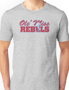 OLE MISS WITH EMBEDDED MASCOT T-Shirt