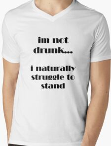 drinking shirt Mens V-Neck T-Shirt