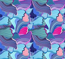 abstract pattern wave by Tanor