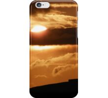 Grianian of Aileach Sunset ,Donegal, Ireland  iPhone Case/Skin
