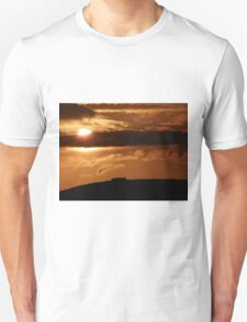 Grianian of Aileach Sunset ,Donegal, Ireland  T-Shirt