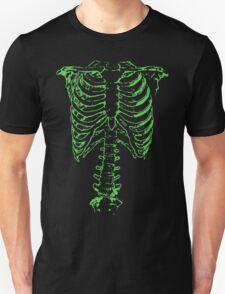 Green Ribcage  T-Shirt