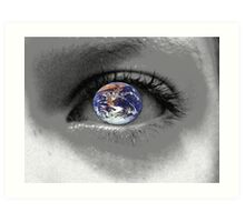 A Childs Eye View Of The World Art Print