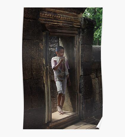 Cambodian Child Poster