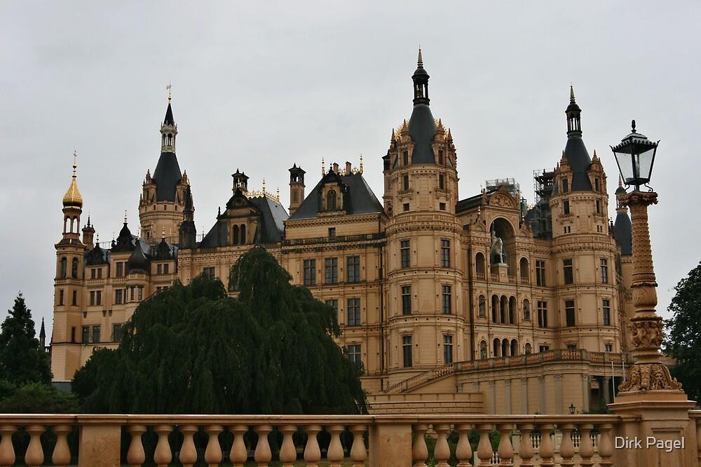 Schwerin castle by Dirk Pagel