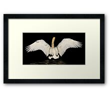 The Mighty Mute Framed Print